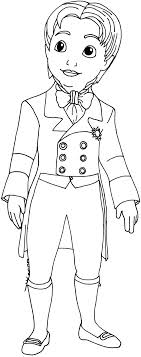 Sofia The First Coloring Pages Prince