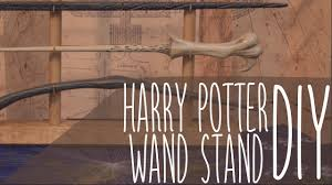 Harry Potter Wand Display Stand Easy Wand Stand Harry Potter DIY YouTube 29
