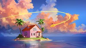 Kame House Island Dragon Ball 4K ...