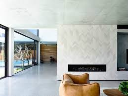 image of nice marble tiles wall fireplace