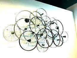 bike wall decor bicycle art design wrought iron basket on iron bike wall decor with basket with bike wall decor bicycle art design wrought iron basket