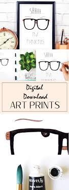 nerdy office decor. Funny Work Quotes, Nerdy Glasses, Office Print, Handmade Market Decor .