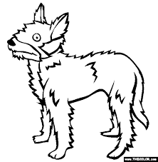 Small Picture Dogs Online Coloring Pages Page 2