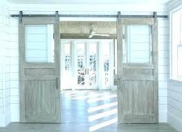 frosted glass barn door barn door with glass panels barn door with glass panels interior barn
