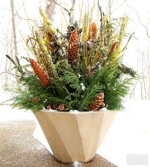 Container Garden Winter Design Using Greenery In Containers Best Container Garden Ideas For Winter