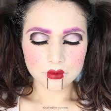 ventriloquist doll makeup idea
