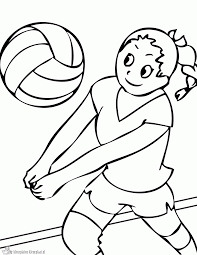Sports Coloring Book Free Printable For Kids Free Free Printable