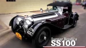 Paul Nesse and Dave Tobin talk about a Jaguar SS 100 at the ...