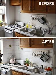 diy small kitchen ideas on a budget 68 apartment decorating ideas and organization tips for ers