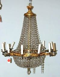 old chandeliers