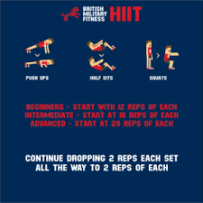 hiit workout bmf x ert military fitness exercise 2