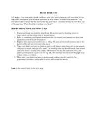 Follow Up Letter After Interview Follow Up Letter Sample