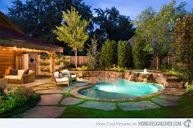Backyard Pool Designs For Small Yards Awesome 48 Amazing Backyard Pool Ideas Home Design Lover