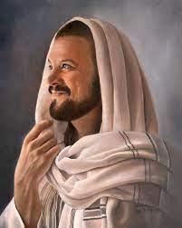 Jesus Painting - Eileen Whitehead