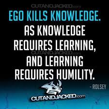 Image result for ego and humility quote