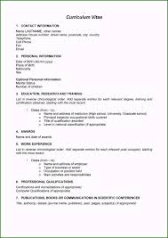 Curriculum Vitae Samples Resume Or Cv Original 48 Great Curriculum Vitae Templates