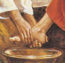 Image result for jesus washing the disciples feet pictures