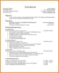 7 Objective Example For Resume Emails Sample
