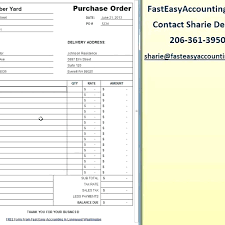Purchase Order Forms Sample Purchase Order Forms Purchase Order Forms Template Free Contractor