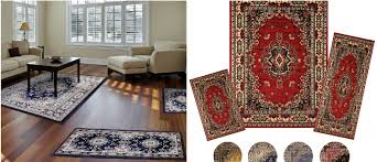 hot 3 piece traditional oriental rug set for 49 99 shipped reg 258