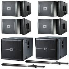 jbl dj sound system. jbl vrx 900 series active line array dj pa system vrx932lap vrx918sp pole-ga jbl dj sound