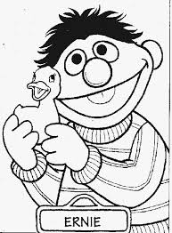 Small Picture Printable Sesame Street Coloring Pages FunyColoring