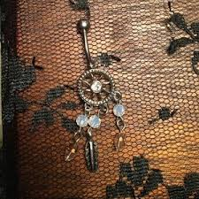 Dream Catcher Belly Button Ring Hot Topic 100% off Hot Topic Jewelry Reverse DreamCatcher Belly Ring from 36