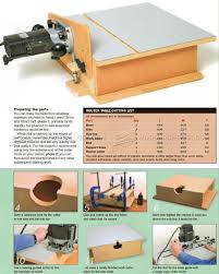 2754 Build Horizontal Router Table Router Woodworking Plans