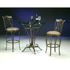 glass pub table and chairs round glass pub table and chairs pub set round glass top