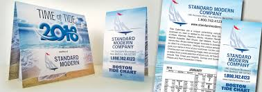 Standard Modern Tide Calendars Tide Time And Height