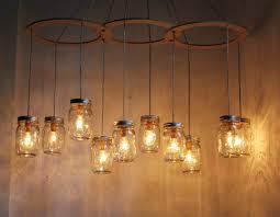 superb glass jar lamp for of amazing lighting mason jar lighting ideas tea light chandelier fairy diy images