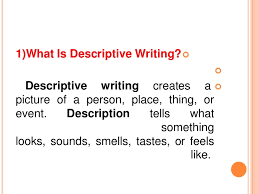 descriptive writing help the oscillation band descriptive writing help