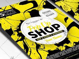 pop up brochure template pop up store flyer psd template by psd market dribbble dribbble