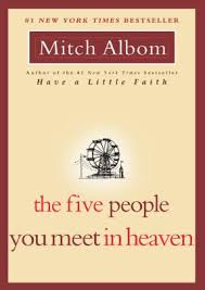 the five people you meet in heaven by mitch albom paperback barnes le