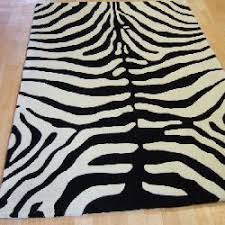 masai rugs mas02 pure wool zebra animal print zebra print rug17 zebra