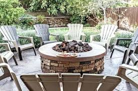 outdoor patio fire pits the best family living today pit palm springs stone square