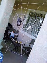 How To Make A Giant Spider Web Halloween Spiderweb 6 Steps With Pictures