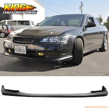 honda accord coupe jdm. Fine Accord Fit 98 99 00 Honda Accord Coupe 2DR PU Front Bumper Lip Spoiler JDM Style For Jdm