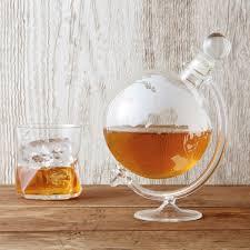 globe decanter whisky