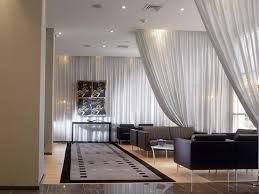 image of great room divider curtain