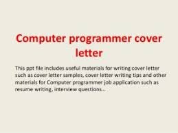 Collection Of Solutions Puter Programmer Cover Letter 1 638 Cb Also