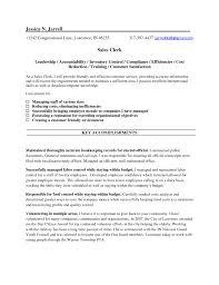 Sample Resume Sales Clerk Position Lovely Payroll Resume Objective