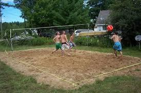 Mauricetown US Silica Plant Develops NCAA Womenu0027s Volleyball Backyard Beach Volleyball Court