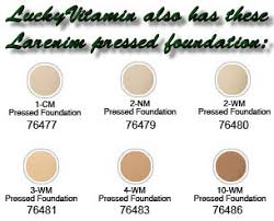 description larenim mineral airbrush pressed foundation 3wm