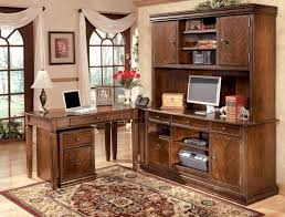 office home office desks wood. Ashley Furniture Home Office With Wood Desk Ideas Desks L