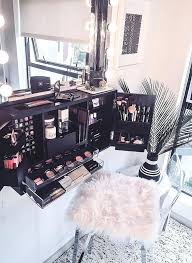 vanity makeup organizer black wall mounted counter top makeup organizer  vanity vanity makeup organizer ideas