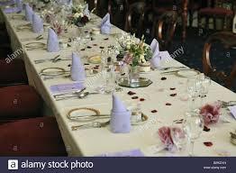 Wedding Reception Table Layout Wedding Reception Table Layout Stock Photo 31160853 Alamy