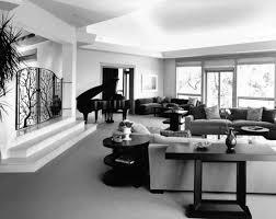 Black White Gray Living Room Interior Design Ideas Above Via Grey Receiving Room Interior Design