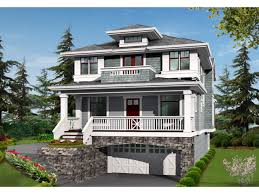 Two Story Bungalow House Plans   mexzhouse comTwo Story House Plans   Balconies Large Two Story House Plans