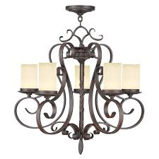 hampton bay caffe patina chandelier lighting manor in 5 light imperial bronze candle chandelier hampton bay